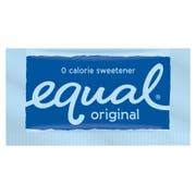 Equal Single Serve Zero Calorie Sweetener Blue Packet, 0.8 gram -- 2000 per case