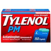Tylenol Extra Strength Caplets, 150 per unit -- 24 per case