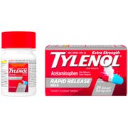 Tylenol Extra Strength Rapid Release Gelcap - 24 count per pack -- 72 packs per case