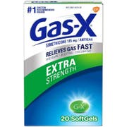 Gas-X Extra Strength Soft Gel, 20 count per pack -- 24 per case.