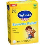 Hyland 4kids Earache Relief Tablet - 40 count per pack -- 1 each
