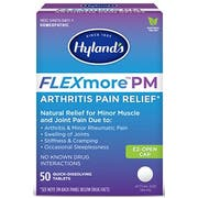 Hyland FLEXmore PM Arthritis Pain Relief Tablet - 50 count per pack -- 1 each