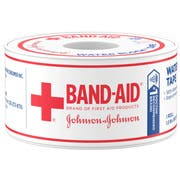 Bandaid First Aid Waterproof Tape -- 24 per case