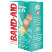 Band Aid Skin Flex All One Size Adhesive Bandage, 25 count per pack -- 24 per case.