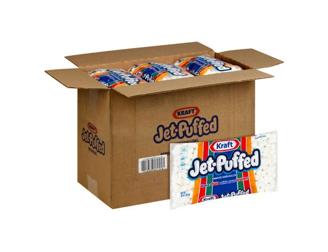 Jet Puffed Miniature Marshmallow, 10 Ounce -- 24 per case.