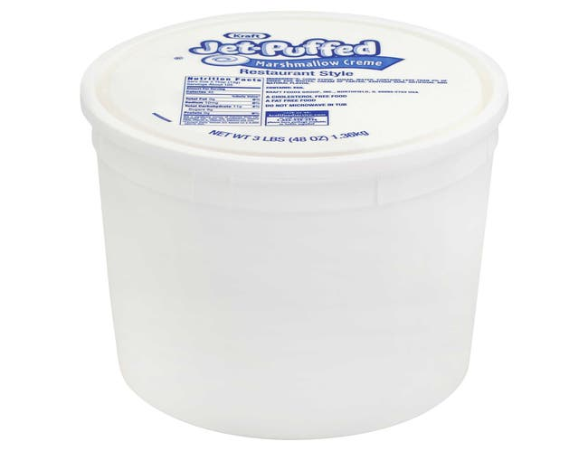 Jet-Puffed Cream Marshmallow Topping  Restaurant Style, 48 Ounce -- 6 Count