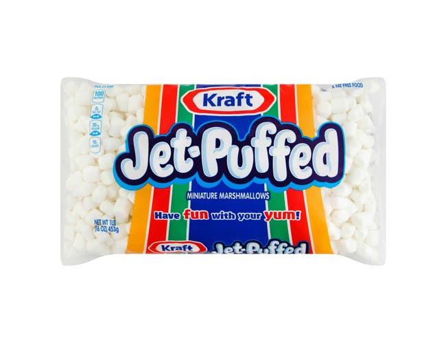 Jet-Puffed Mini Marshmallow - 16 oz. bag, 12 per case