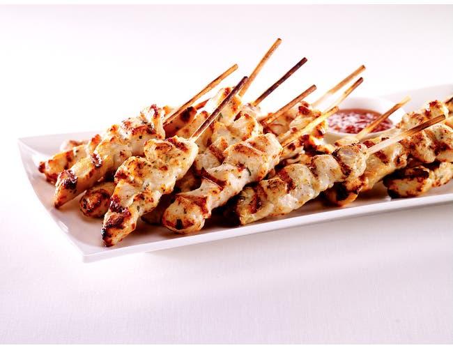 Expresco Foods Chicken Satays, 1 Ounce -- 100 per case.