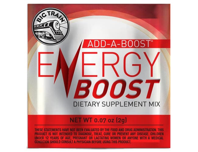 Big Train Energy Boost Dietary Supplement Mix, 2 Gram -- 300 per case