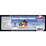 Cheesemakers Barra Queso Blanco Panela Cheese, 5 Pound -- 4 per case.