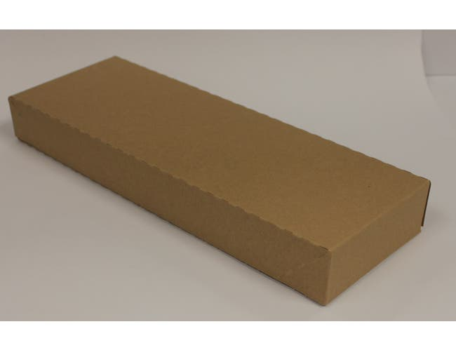 Evergreen Manufacturing Brown Bandit Napkin Band, 1.5 x 4.25 inch - 2500 per pack -- 8 packs per case.