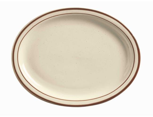 World Tableware Desert Sand Ultima Platter, 9 1/2 inch -- 24 per case