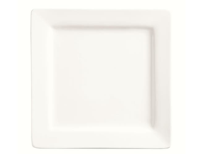 World Tableware Slate Porcelana Square Plate, 9 inch -- 12 per case