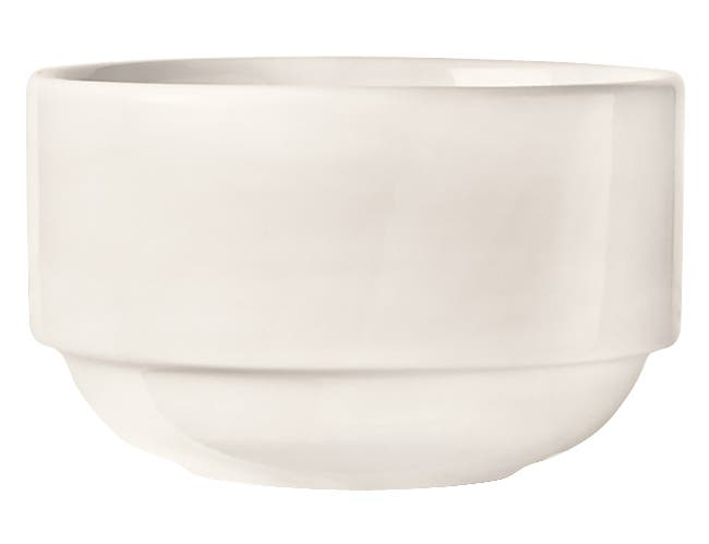 World Tableware Porcelana Bright White Nestabowl, 10 Ounce -- 36 per case.