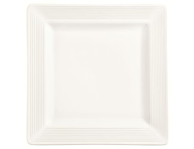 World Tableware Slate Square Plate, 9 inch -- 12 per case.