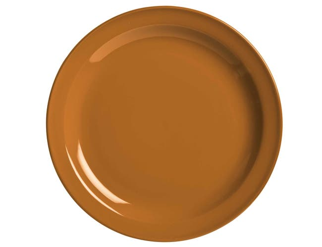 World Tableware Veracruz Cocoa Plate, 10.5 inch -- 12 per case.