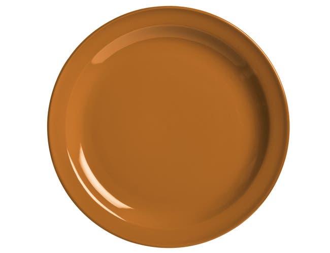 World Tableware Veracruz Cantaloupe Plate, 10.5 inch -- 12 per case.