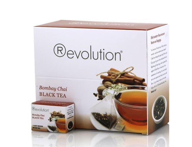 Revolution Bombay Chai Black Tea, 2.33 Ounce -- 4 per case.