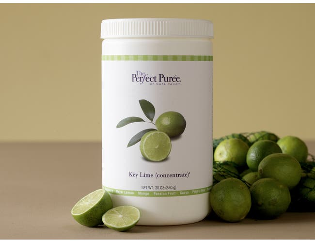 The Perfect Puree Key Lime Concentrate, 30 Ounce -- 6 per case.