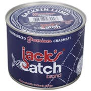 Jacks Catch Premium Backfin Lump Crabmeat, 1 Pound -- 12 per case