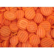 Commodity Vegetables Medium Crinkle Cut Carrot, 2 Pound -- 12 per case.