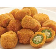 Commodity Vegetables Breaded Okra, 2 Pound -- 12 per case.