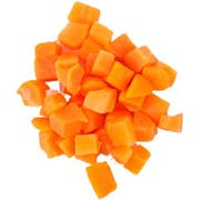 Commodity Vegetables Diced Carrot, 2 Pound -- 12 per case.