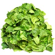 Commodity Vegetables Individual Quick Frozen Chopped Spinach, 20 Pound -- 1 each.
