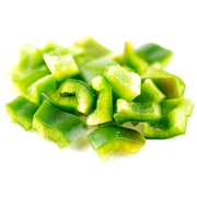 Savor Imports Diced Green Pepper, 3/8 inch -- 1 each.