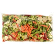 Commodity Vegetables Individual Quick Frozen Stir Fry Vegetable Mix, 2 Pound -- 12 per case.