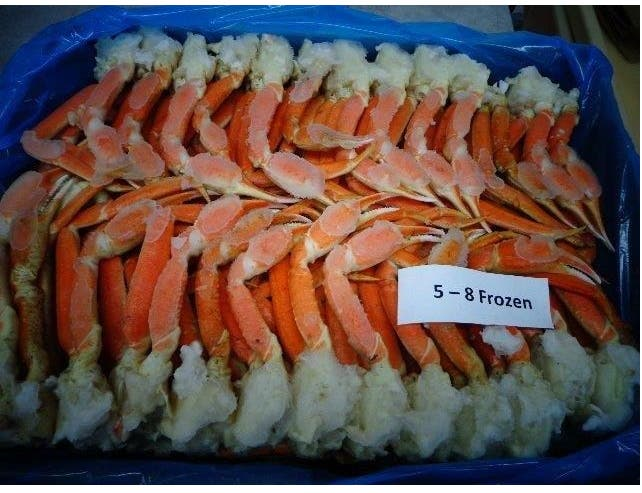 Frozen Seafood Canadian Gulf Snow Crab Clusters, 30 Pound -- 1 each.
