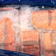 Frozen Seafood Skinless Chum Salmon Portion, 10 Pound -- 1 each.