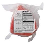 Frozen Seafood Boneless Skinless Ahi Tuna Steak, 10 Pound -- 1 each.