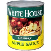 Commodity Canned Fruit and Vegetables Chunky Apple Sauce, Number 10 Can -- 6 per case