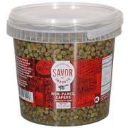 Savor Imports Non Pareil Capers, 1.5 Liter -- 4 per case.