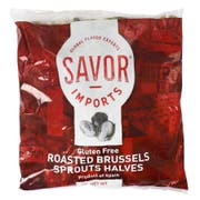 Savor Imports Lightly Roasted Brussels Sprouts Halves, 2 Pound -- 12 per case