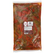 Savor Imports Sweet Brine Red and Green Pepper Strips, 80 Ounce -- 6 per case