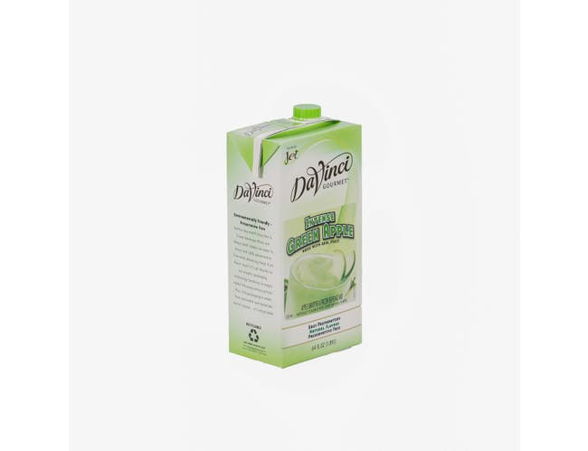 Oregon Chai Beverage Jet Tea Intense Green Apple Smoothie Mix, 64 Ounce -- 6 per case.