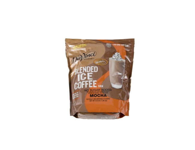 Jet Tea No Sugar Added Mocha Blended Iced Coffee Mix, 3 Pound -- 4 per case.