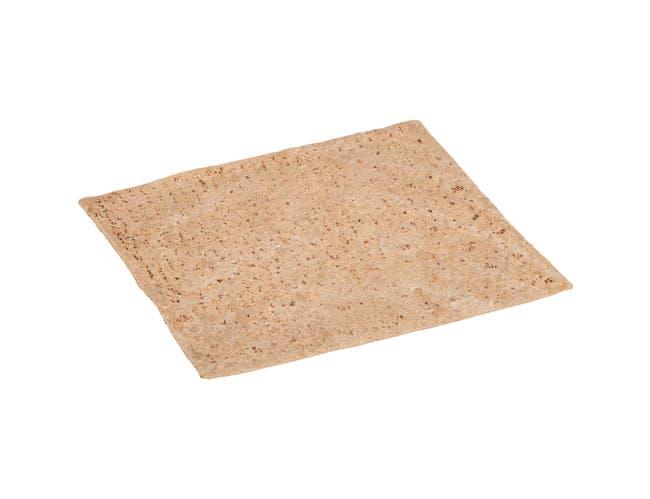 Flatout Pattco Rectangle Harvest Wheat Bread, 5.5 Ounce -- 48 per case.