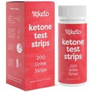 Kiss My Keto Ketone Urine Test Strips - 200 count per pack -- 1 each