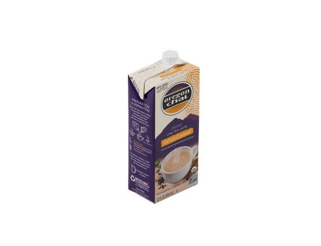 Oregon Chai Salted Caramel Tea Latte Concentrate, 32 Fluid Ounce -- 6 per case.