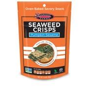 Seapoint Farms Pumpkin Sesame Seaweed Crisps, 1.2 Ounce -- 12 per case.