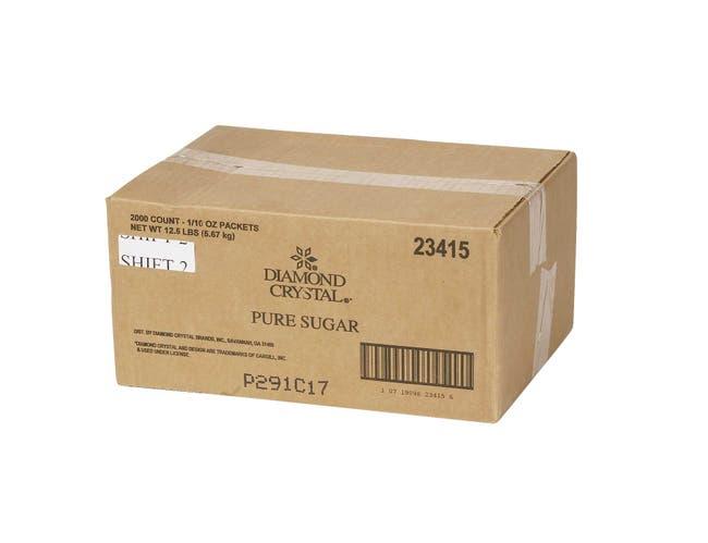 Diamond Crystal Sugar Packets, 3 Gram -- 2000 per case.