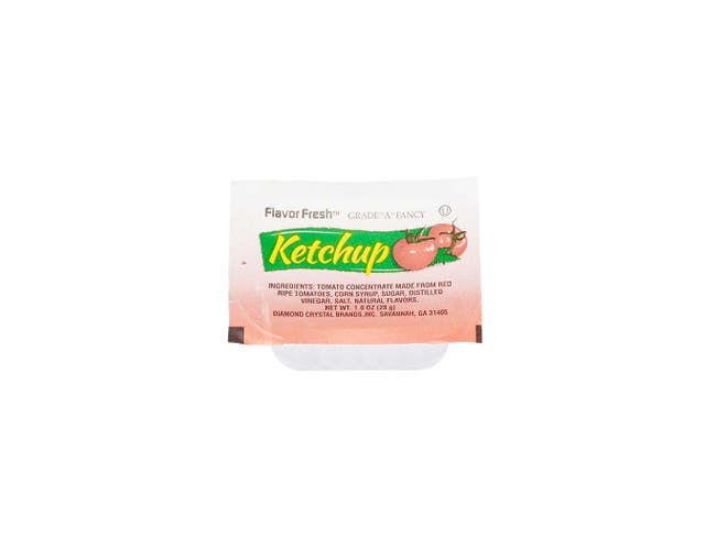 Flavor Fresh Low Sodium Ketchup Cup, 1 Ounce -- 100 per case.