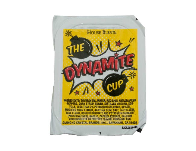 Flavor Fresh The Dynamite Sauce, 1 Ounce Cup -- 100 per case.