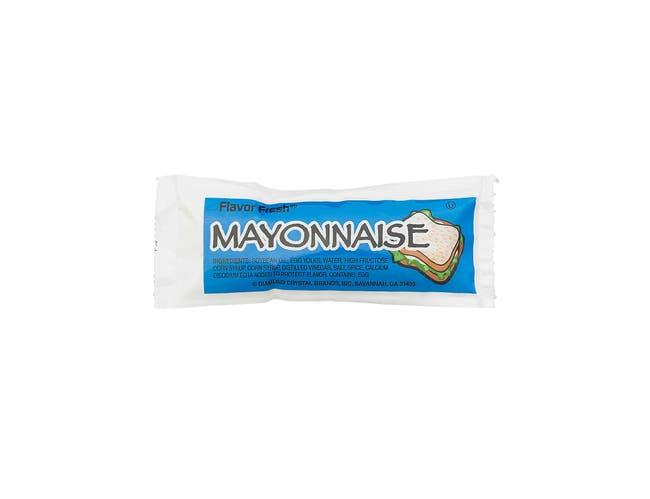 Flavor Fresh Mayonnaise Pouch, 12 Gram -- 200 per case.