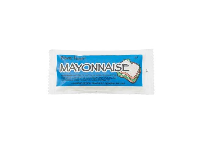 Flavor Fresh Mayonnaise Pouch, 9 Gram -- 200 per case.