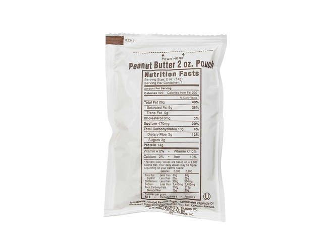 Poco Pac Peanut Butter Pouch, 2 Ounce -- 200 per case.