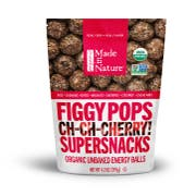 Made in Nature Organic Tart Cherry Fig Pops, 4.2 Ounce -- 6 per case.